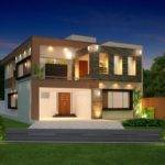 Front Elevation Modern House Architecture Decorating