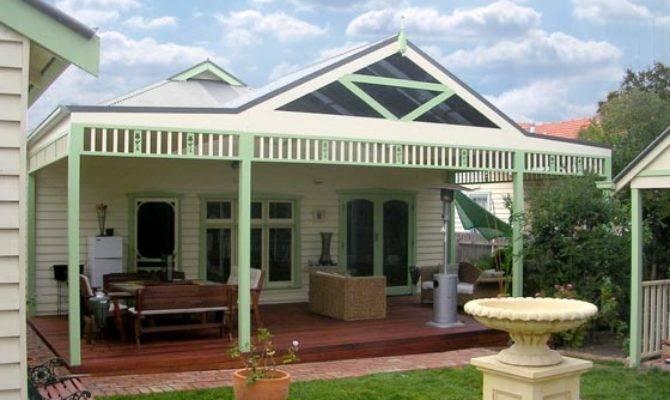 Front House Verandahs Victoria Homes Design