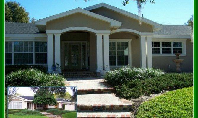 Front Porch Additions Ranch Homes Design Idea Home