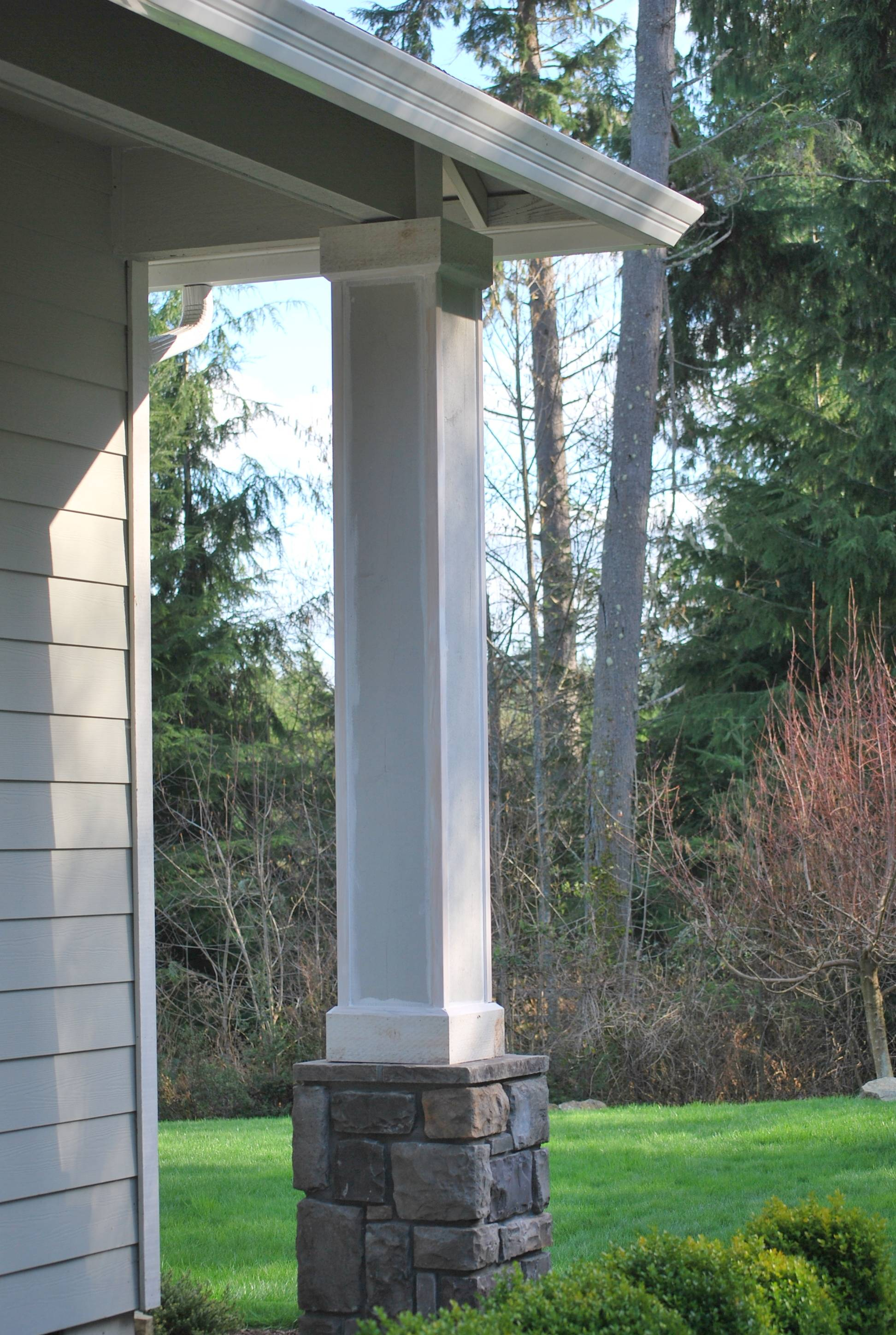 Front Porch Columns Gathering Place