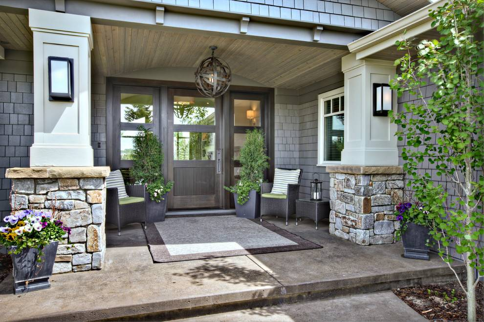 Front Porch Designs Contemporary Covered