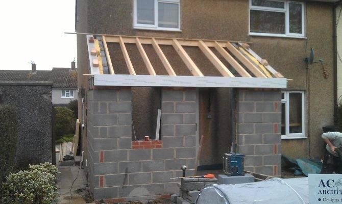 Front Porch Extention Apr