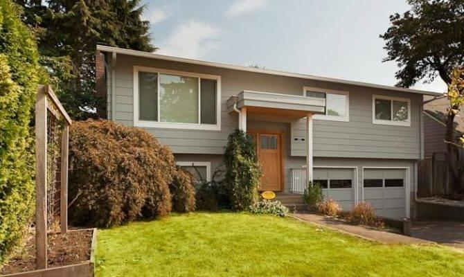 Front Porch Ideas Split Level House Home Pinterest