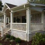 Front Porch Plans Single Level House