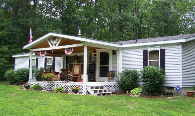 Front Porches Mobile Homes