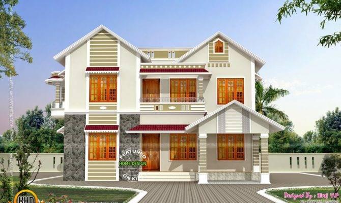 Front Side Elevation House Kerala Home Design Floor Plans