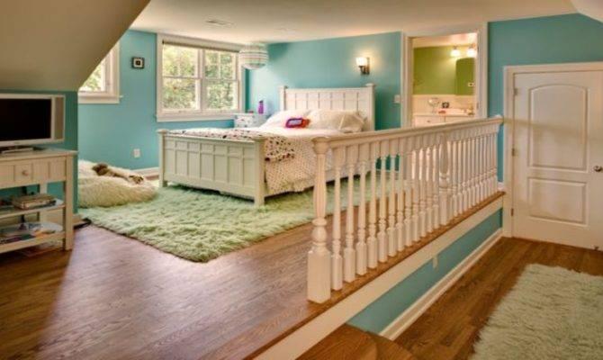 Furniture Attic Bedrooms Split Level Bedroom
