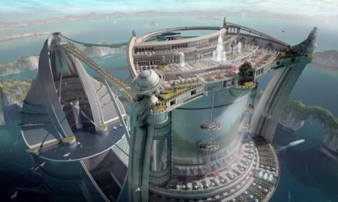 Futuristic Architectural Building Design One Total Photos