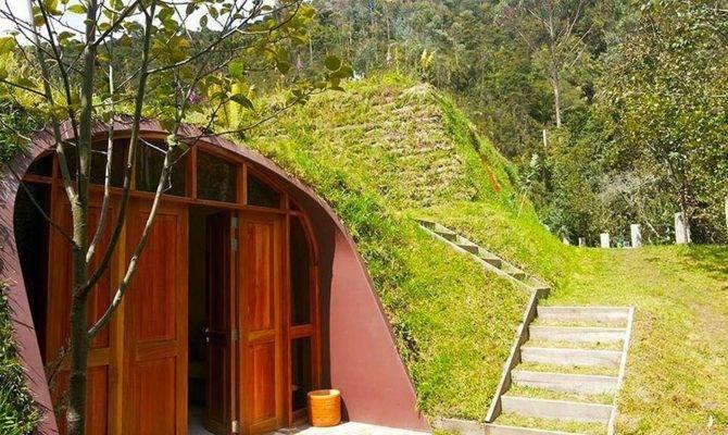 Futuristic Underground Hobbit House Green Magic Homes