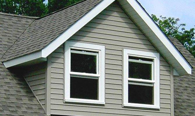 Gable Dormers Have Gabled Roof Two Sloping