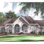 Gallatin Country French Home Plan House Plans