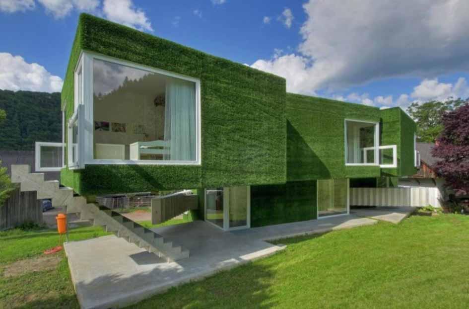 Gambar Konsep Desain Rumah Hijau Dan Taman Yang Indah Admin