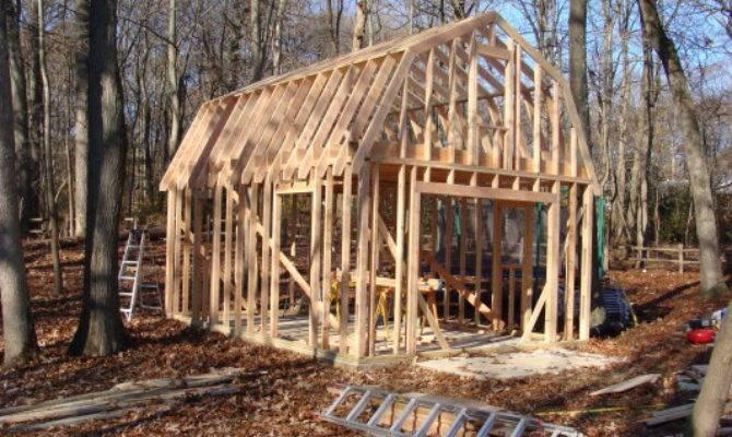 Gambrel Roof Frame Homedesignpictures