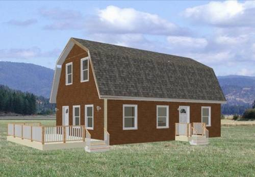 Gambrel Roof House Plans Style Floor