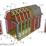 Gambrel Roof Plans Myoutdoorplans