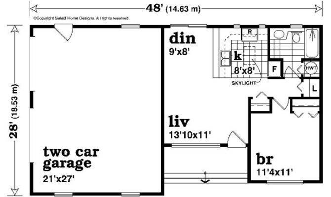 Garage Apartment Plans One Story Plan