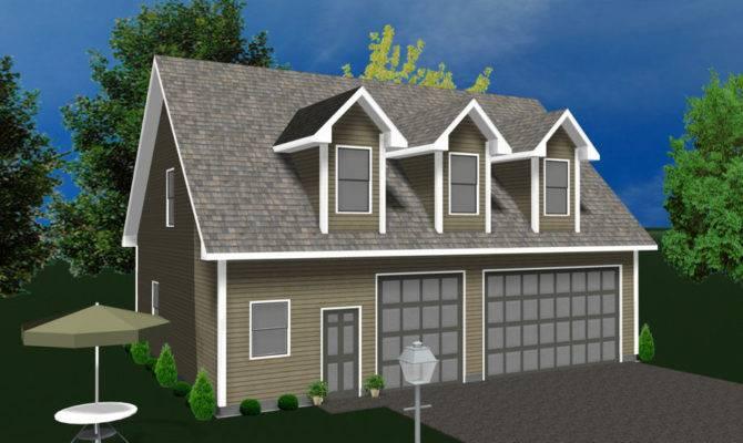 Garage Apartment Prefabricated Home Kit Prefab