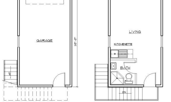 Garage Apartment Sample Plan