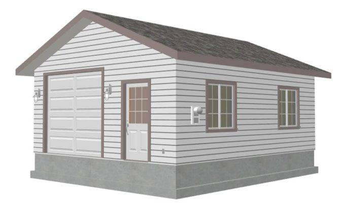 Garage Custom Plan Sheds Plans