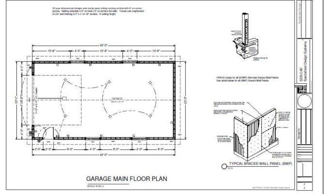 Garage Foundation Plans Additionally Duplex House Designs