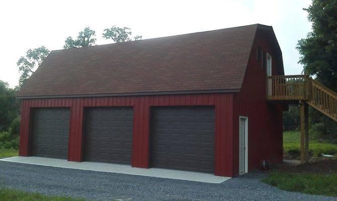 Garage Kits Pole Buildings Pinterest Barns Gambrel