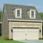 Garage Loft Plans Car Plan Gable Roof