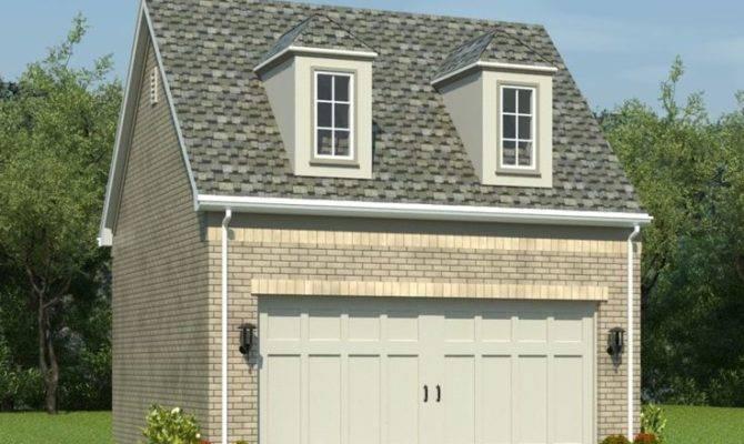 Garage Loft Plans Car Plan Gable Roof