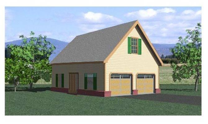 Garage Loft Plans Country Style Plan