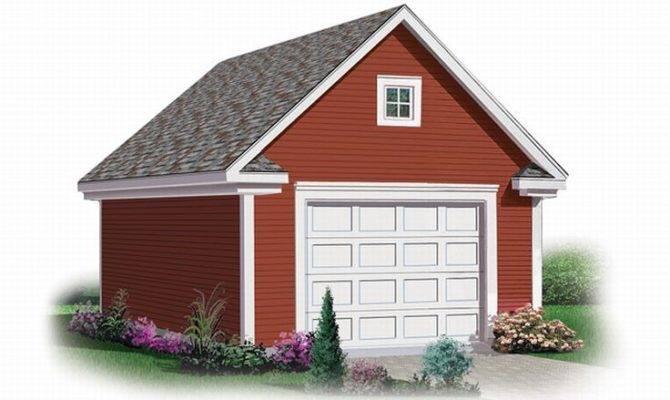 Garage Loft Plans Detached Car Plan