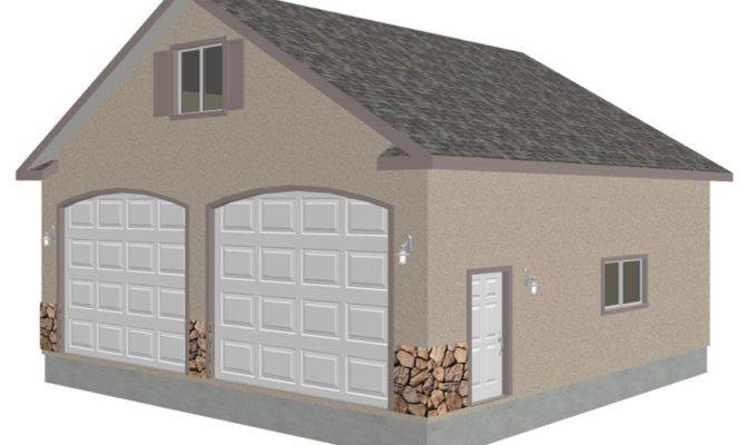 Garage Plan Sds Plans Part