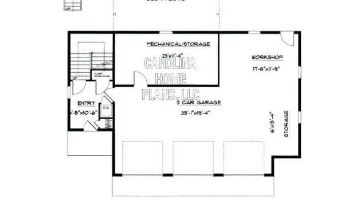 Garage Plans Apartment One Level Apartments