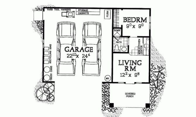 Garage Plans Apartment One Story Smalltowndjs