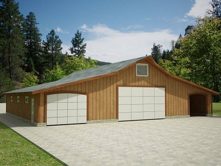 Garage Plans Blue Prints Plan Shop