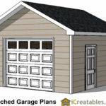 Garage Plans Car Door Detached