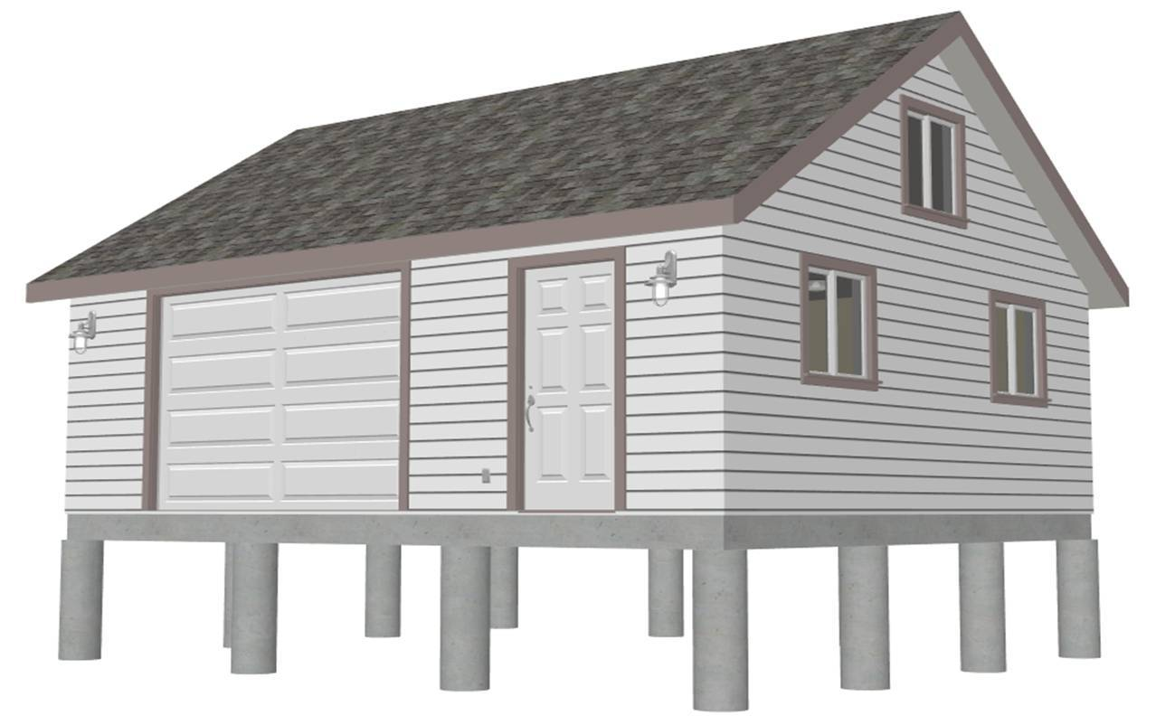Garage Plans Gambrel Barn House Diagnosticate