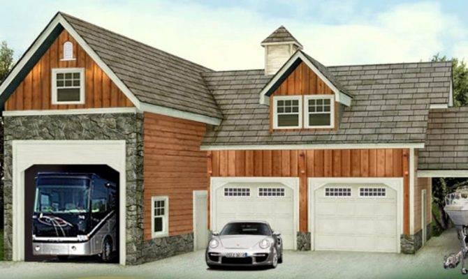Garage Plans Living Quarters Cool