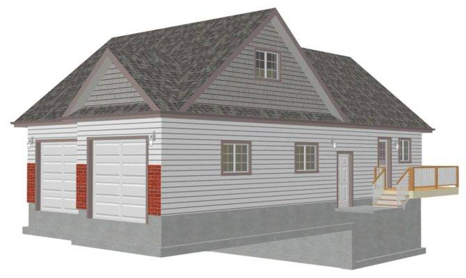 Garage Plans Loft Sds