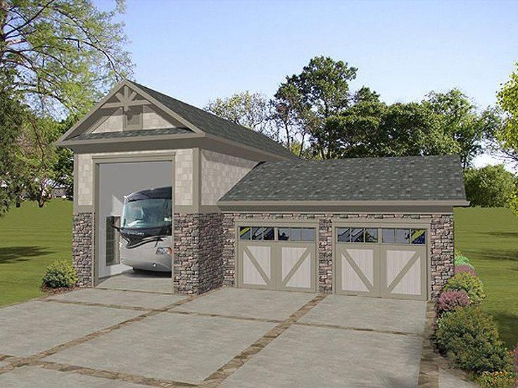 Garage Plans Plan Attached Car