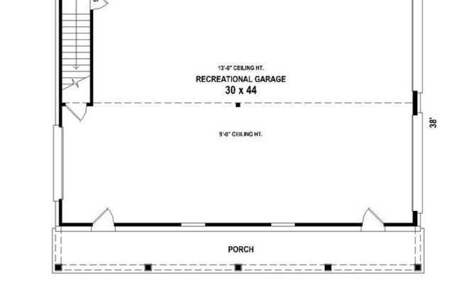 Garage Plans Plan Tandem Bay