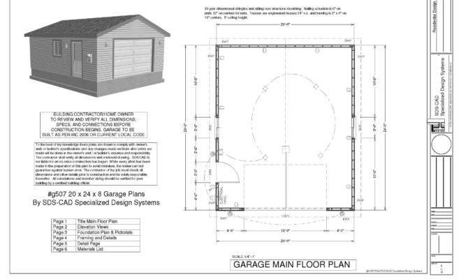 Garage Plans Sds