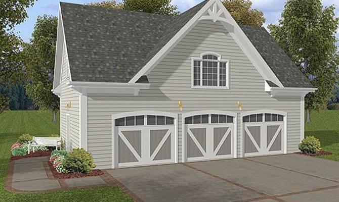 Garage Plans Three Car Loft Plan Siding Ade Design