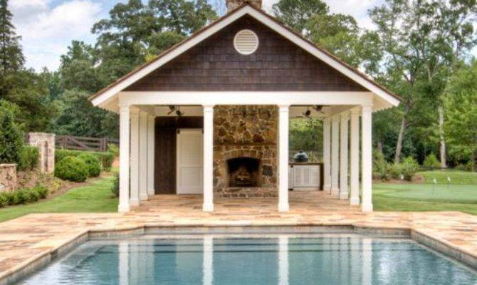 Garage Pool House Combo Plans Design