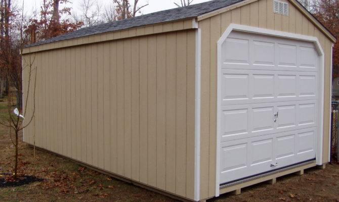 Garage Shed Plans Kits