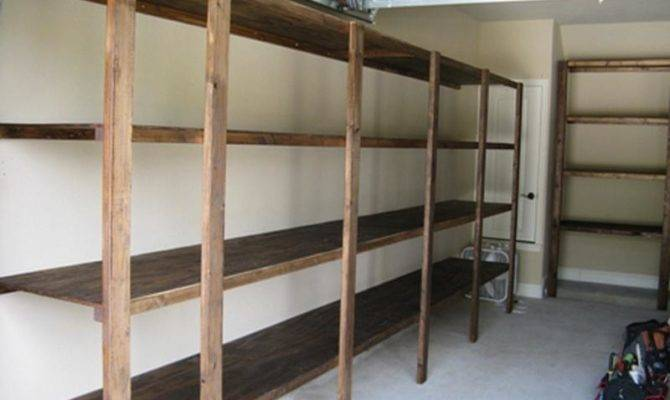 Garage Shelf Plans Metal Shelving