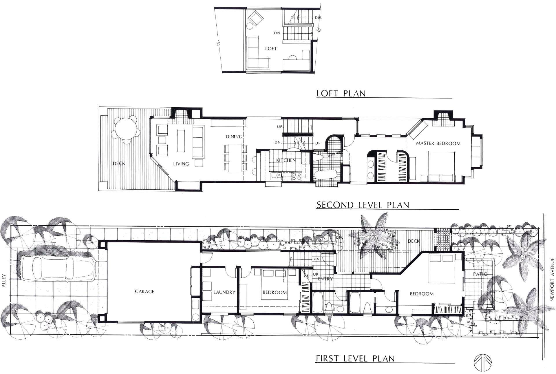 Garage Under House Plans New Floor Loft