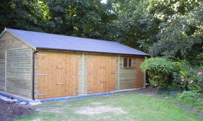 Garage Workshop Warwick Timber Garages