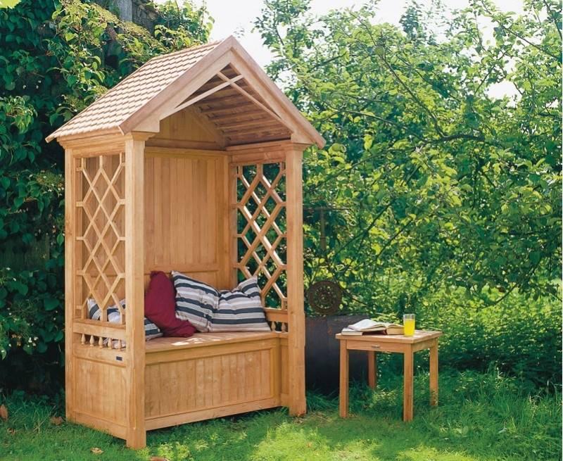 Garden Arbor Bench Design Ideas Diy Kits Can