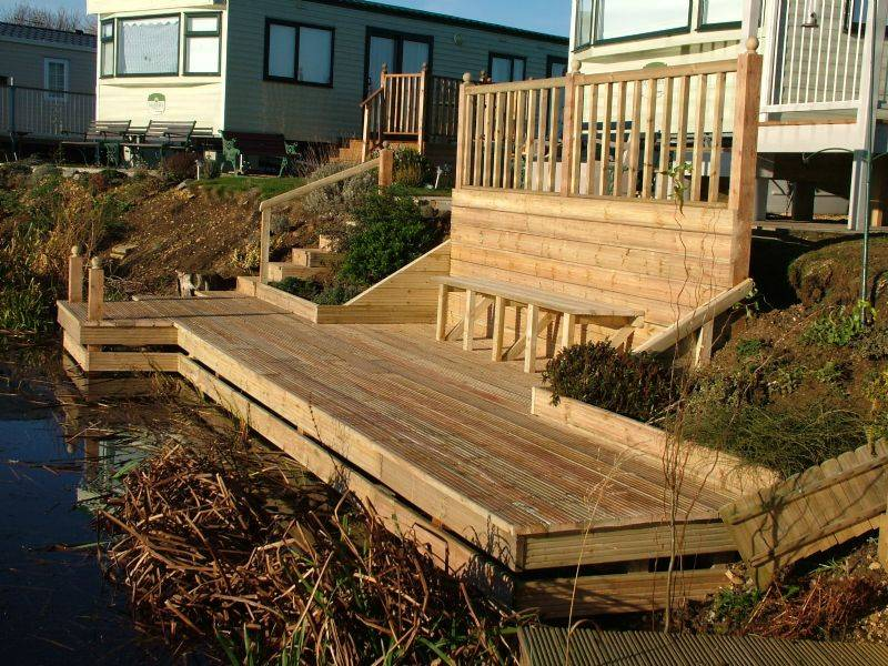 Garden Decking Ideas Tips Edging