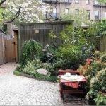 Garden Houses Small Contemporary Courtyard Gardens Ideas Wood Fence
