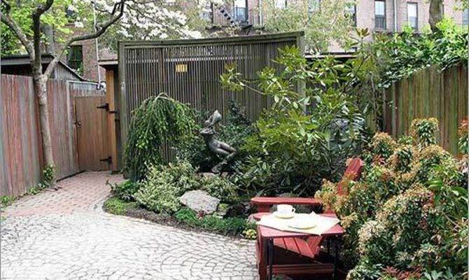 Garden Houses Small Contemporary Courtyard Gardens Ideas Wood Fence